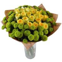 Bouquet Summer Rhapsody with vase