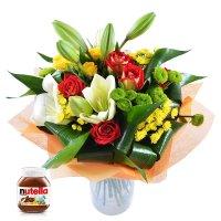 Bouquet Parrot + nutella