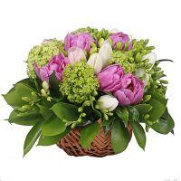 Bouquet Emerald basket