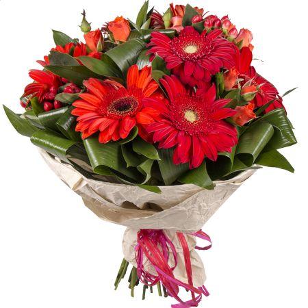 Bouquet Crimson palette
