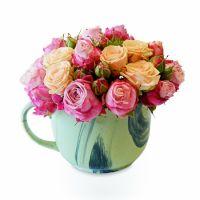 Bouquet Flower cup