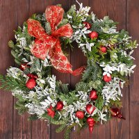 Christmas and New Year's wreaths
